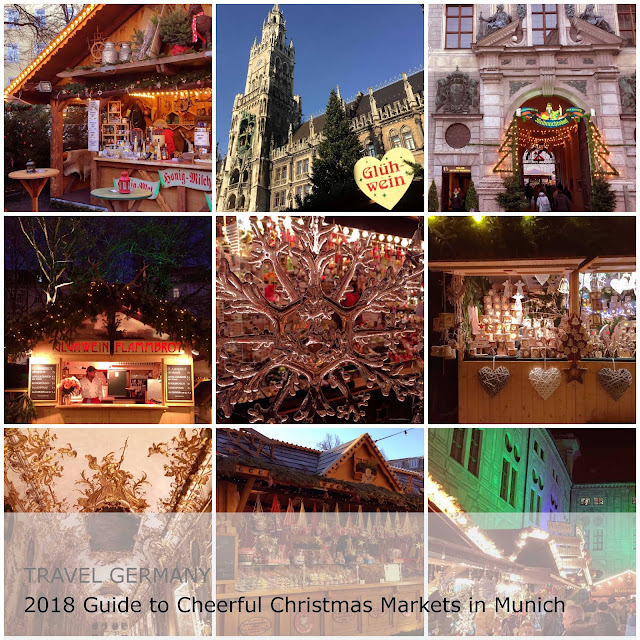 Travel Germany. 2018 Guide to Cheerful - Christmas Markets in Munich