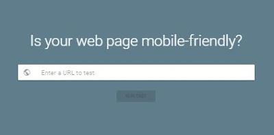 test responsive blog