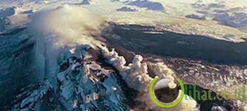 Gunung Hekla, Islandia
