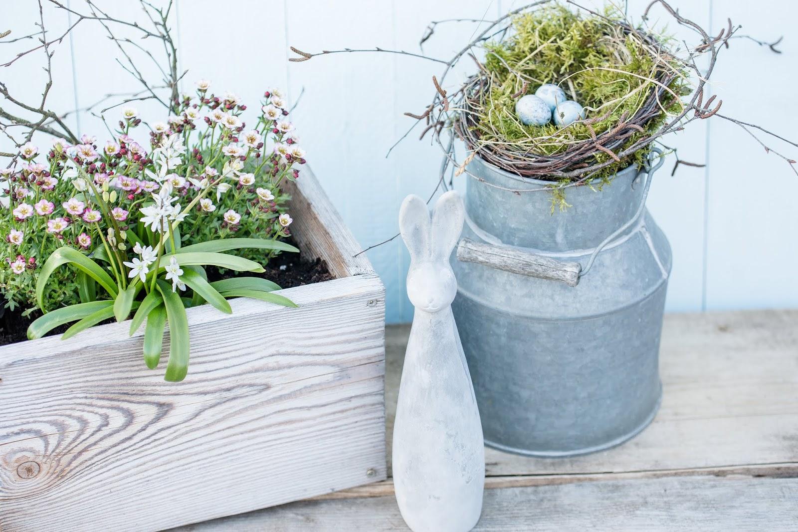 DIY Ostern, Vogelnest Selbstgemacht, Pomponetti