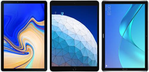Comparativa mejores tablets de unos 500 €