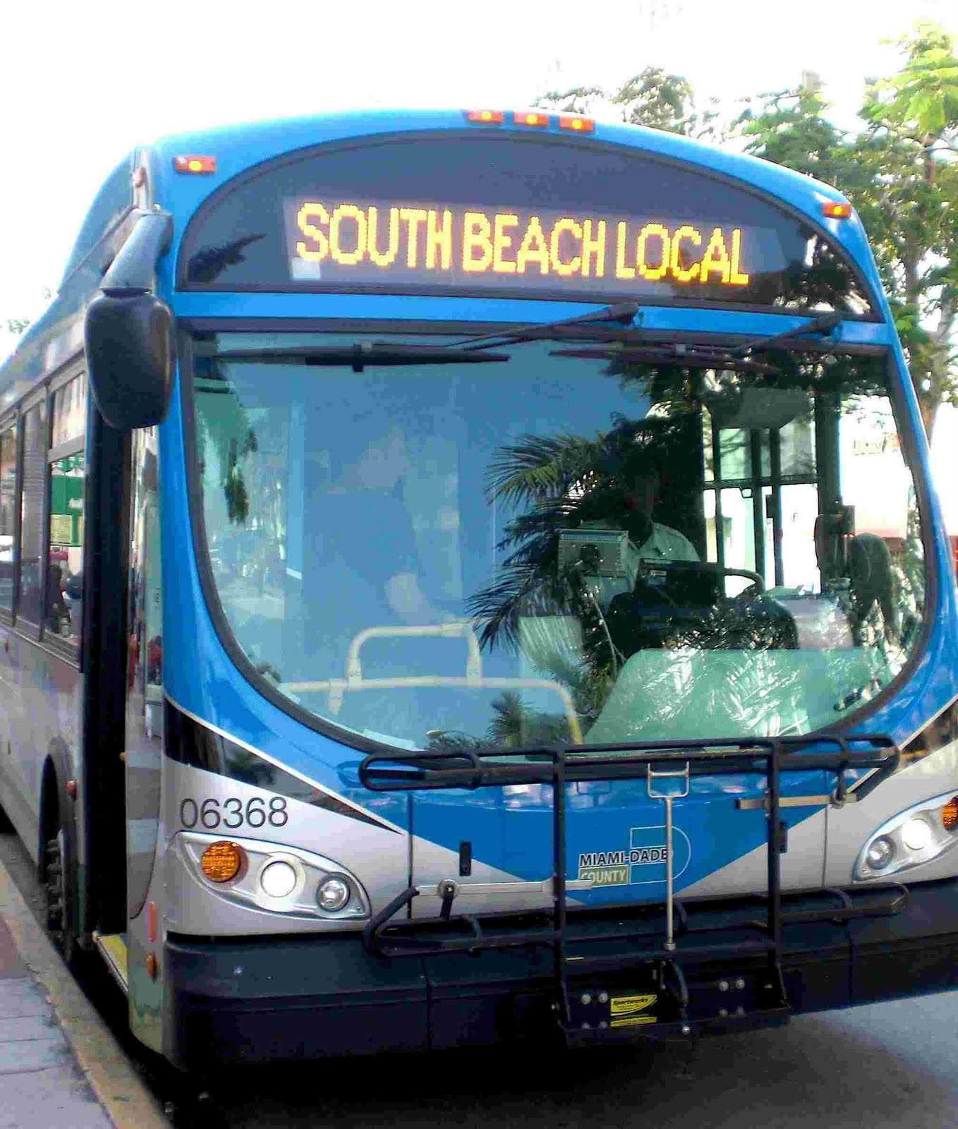 South Beach Local Bus Washington Avenue Miami Dade Transit