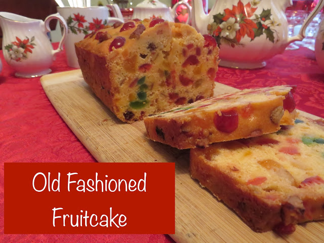 It's time to make fruitcake for Christmas