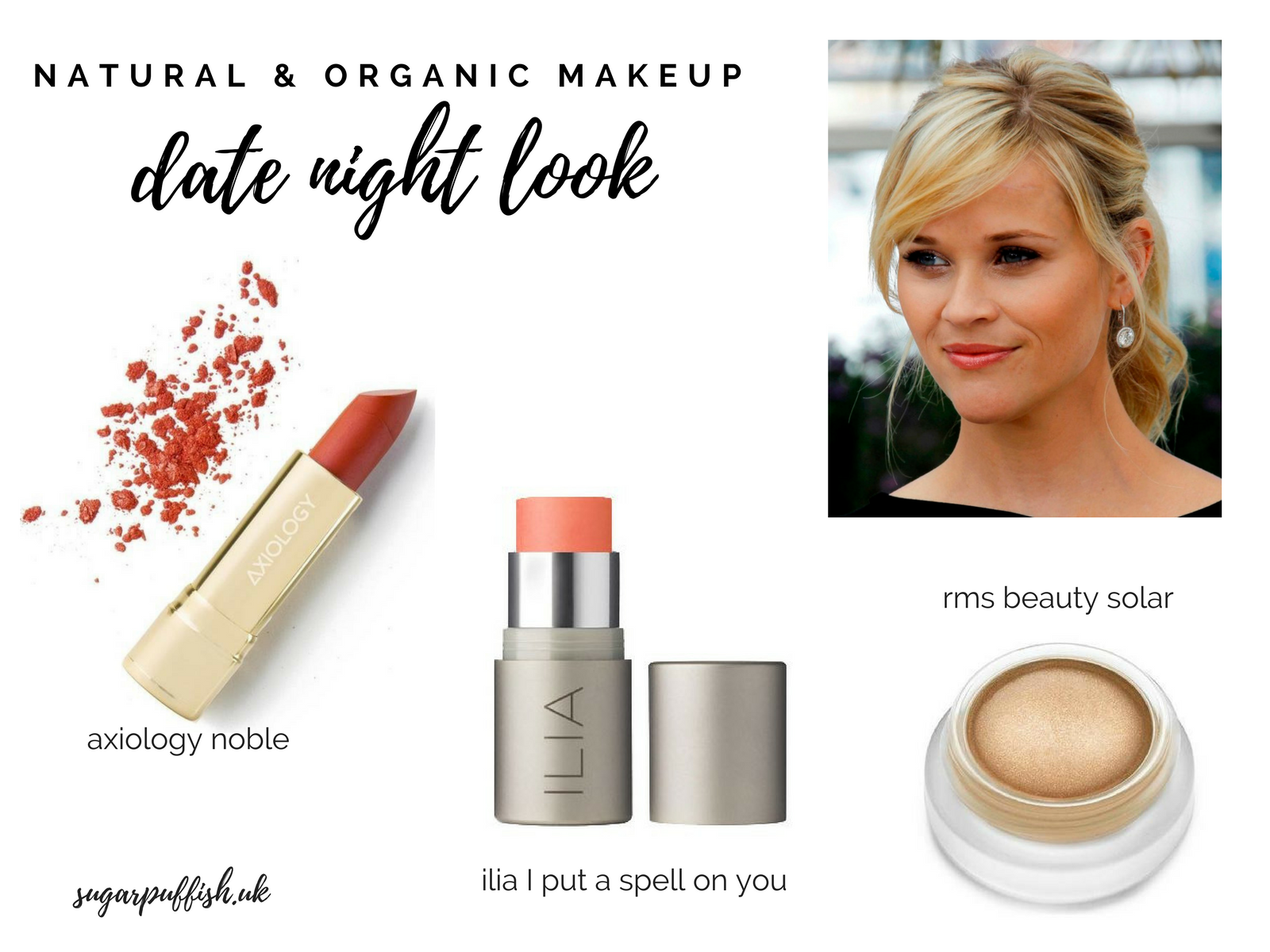 Date Night Celebrity Inspired Look with Natural & Organic Makeup