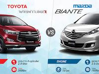 Pilih Toyota Venturer atau Mazda Biante?
