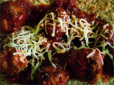 Open-Faced Meatball Sandwiches