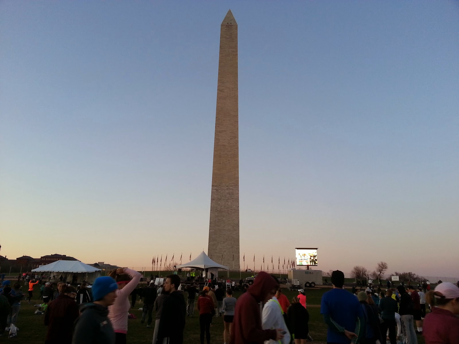 Early morning Washington Monument