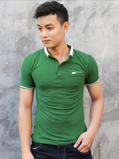 áo thun màu xanh két