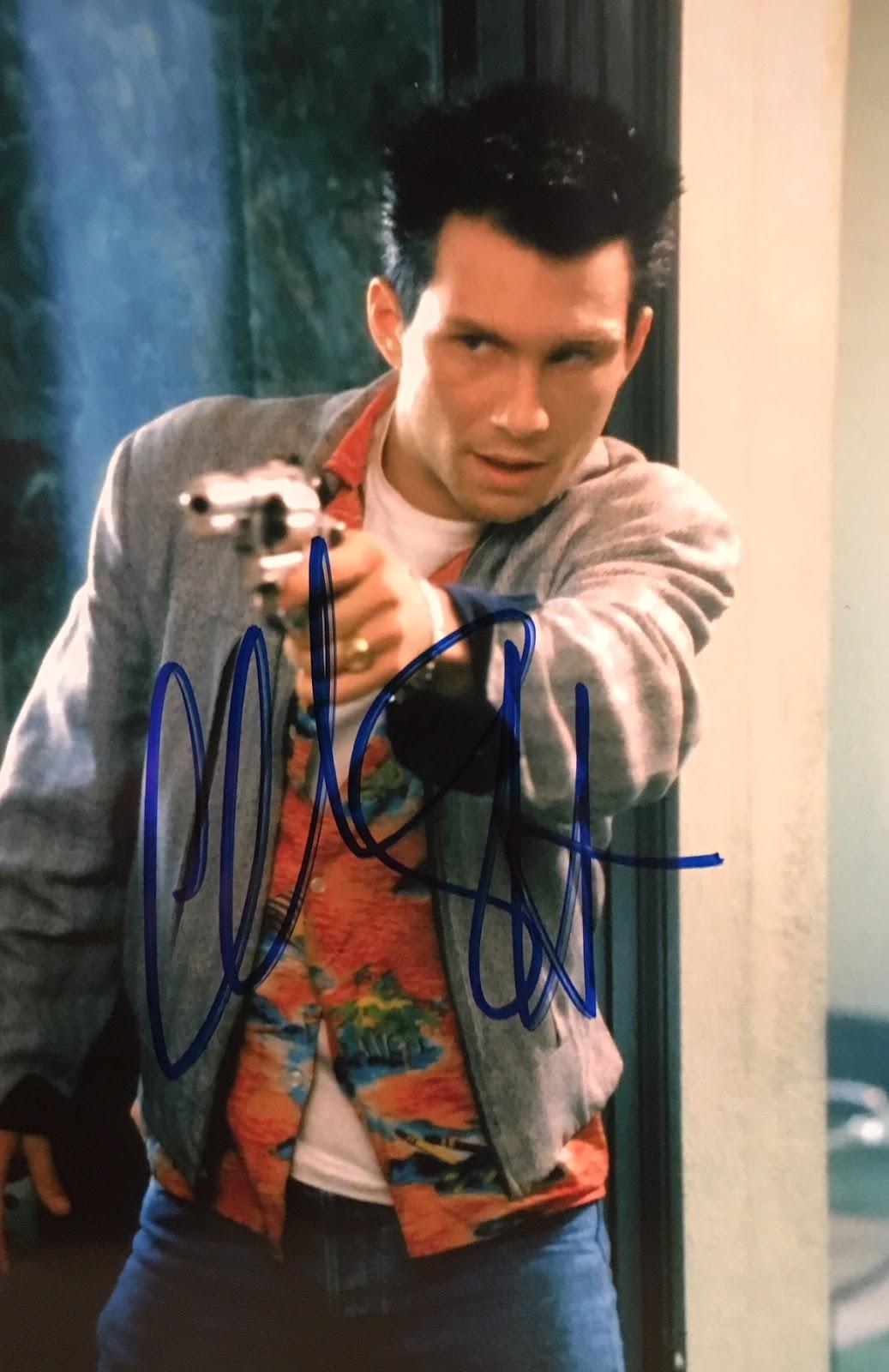Celebrity Signings: Christian Slater (True Romance, Archer)