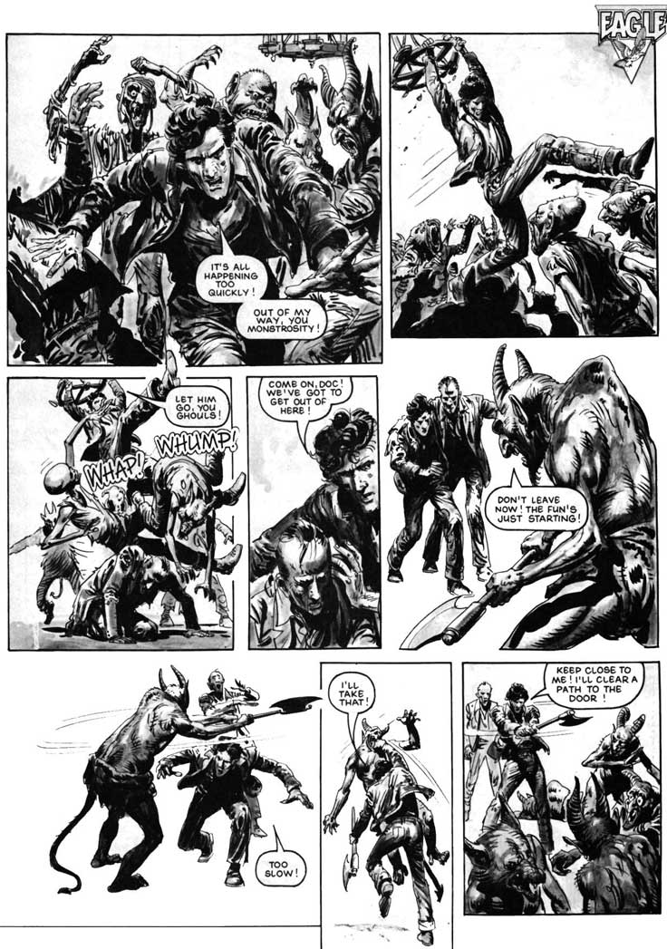 British Comic Art The House Of Daemon