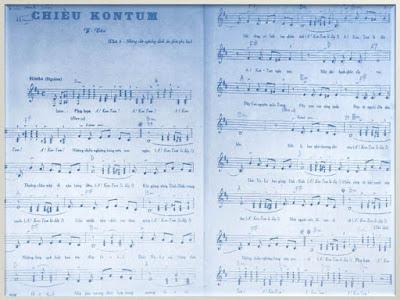 """nhạc phẩm """"Chiều KonTum"""" của nhạc sĩ Y Vân"""