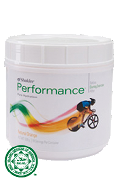 Performance drink shaklee, performance drink orange