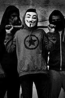 Ảnh Hacker Anonymous