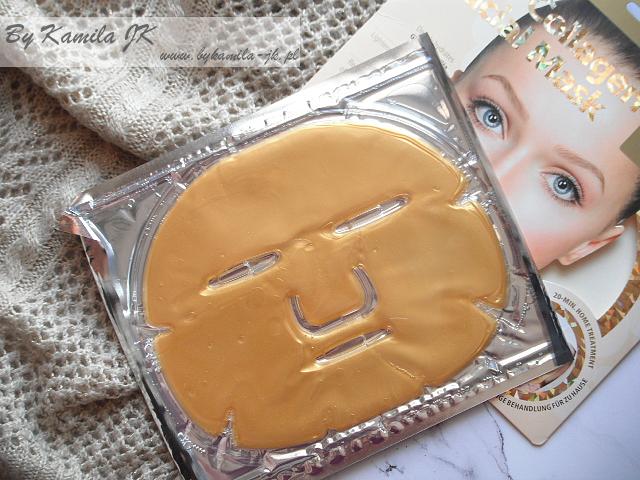 GlySkinCare Gold Collagen kolagenowa maska do twarzy ze złotem