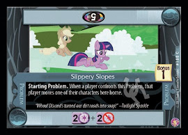 My Little Pony Slippery Slopes Absolute Discord CCG Card