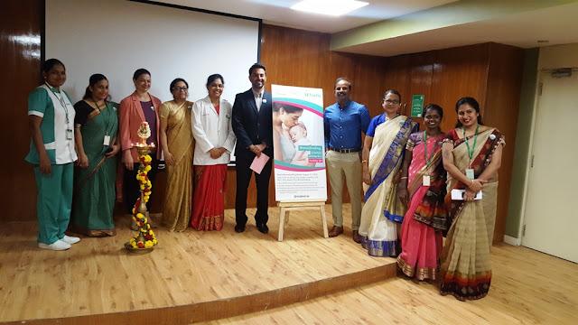 World Breastfeeding Week Celebration at Fortis Bannerghatta Road