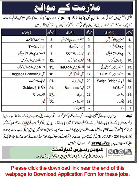 Nlc jobs 2019