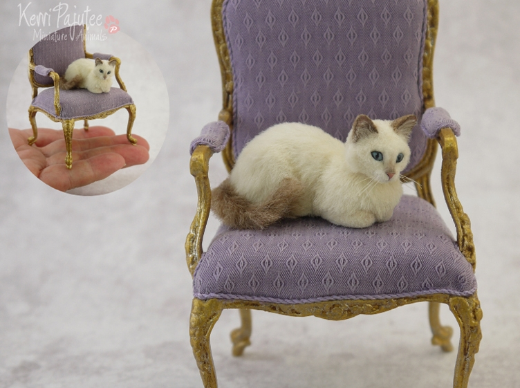 23-Ragdoll-Cat-Kerri-Pajutee-Miniature-Sculpture-that-look-Real-www-designstack-co