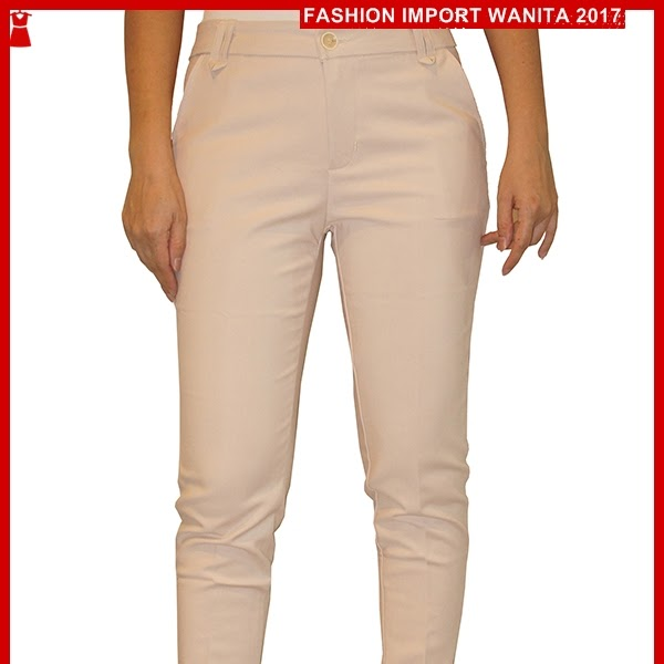 ADR120 Celana Wanita Cream Panjang Basic Import BMG