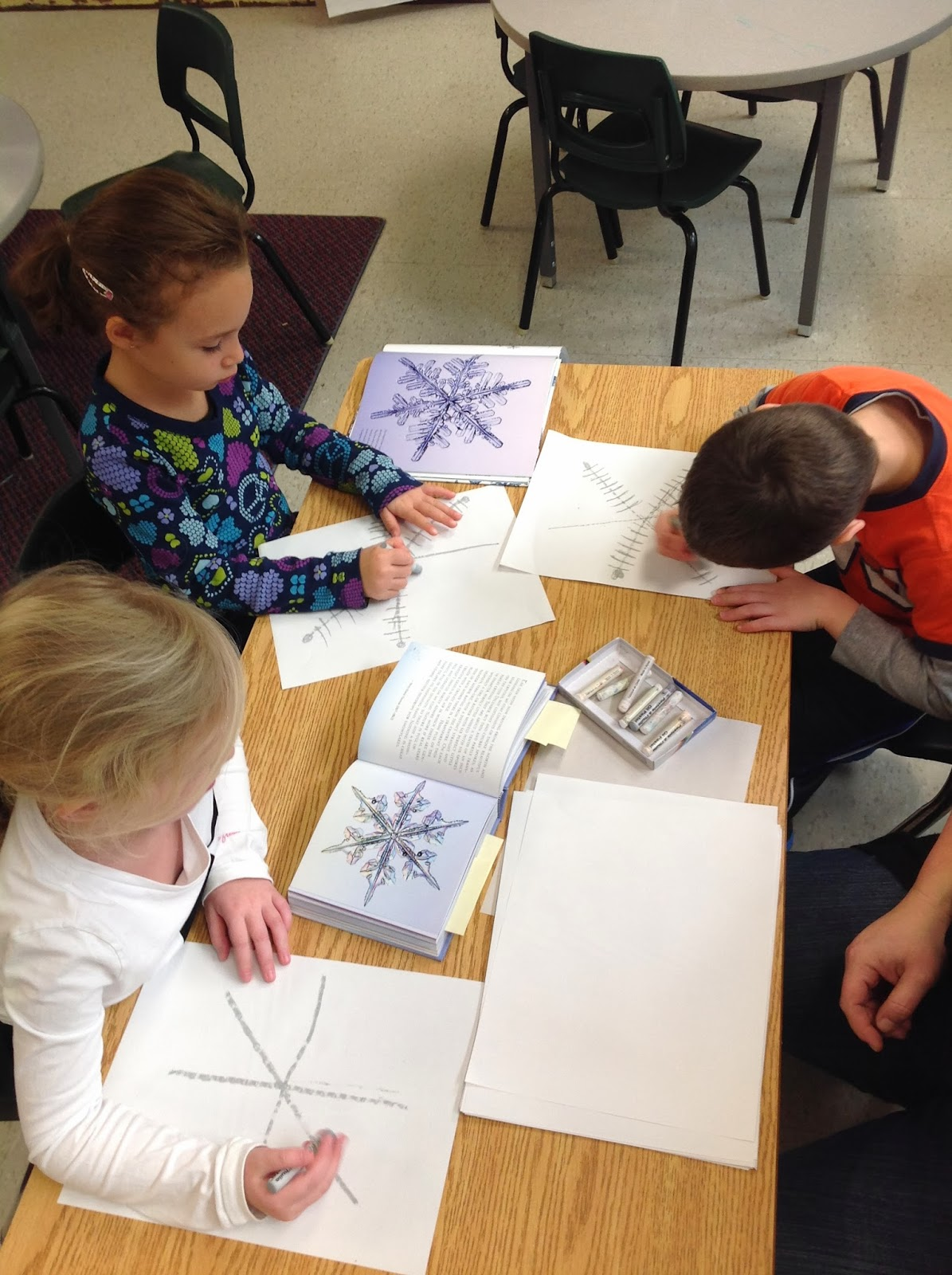 Wonders In Kindergarten Our Snowflake Inquiry Further