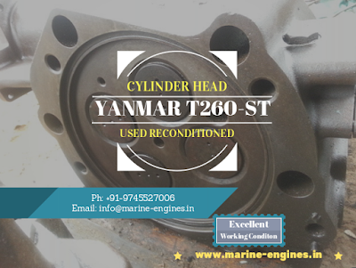 yanmar engine spares, Shipspares, Cylinder Head, Engine, motor, Block, Plungers, major parts, India, Shiprecycle, Ship breaking yard