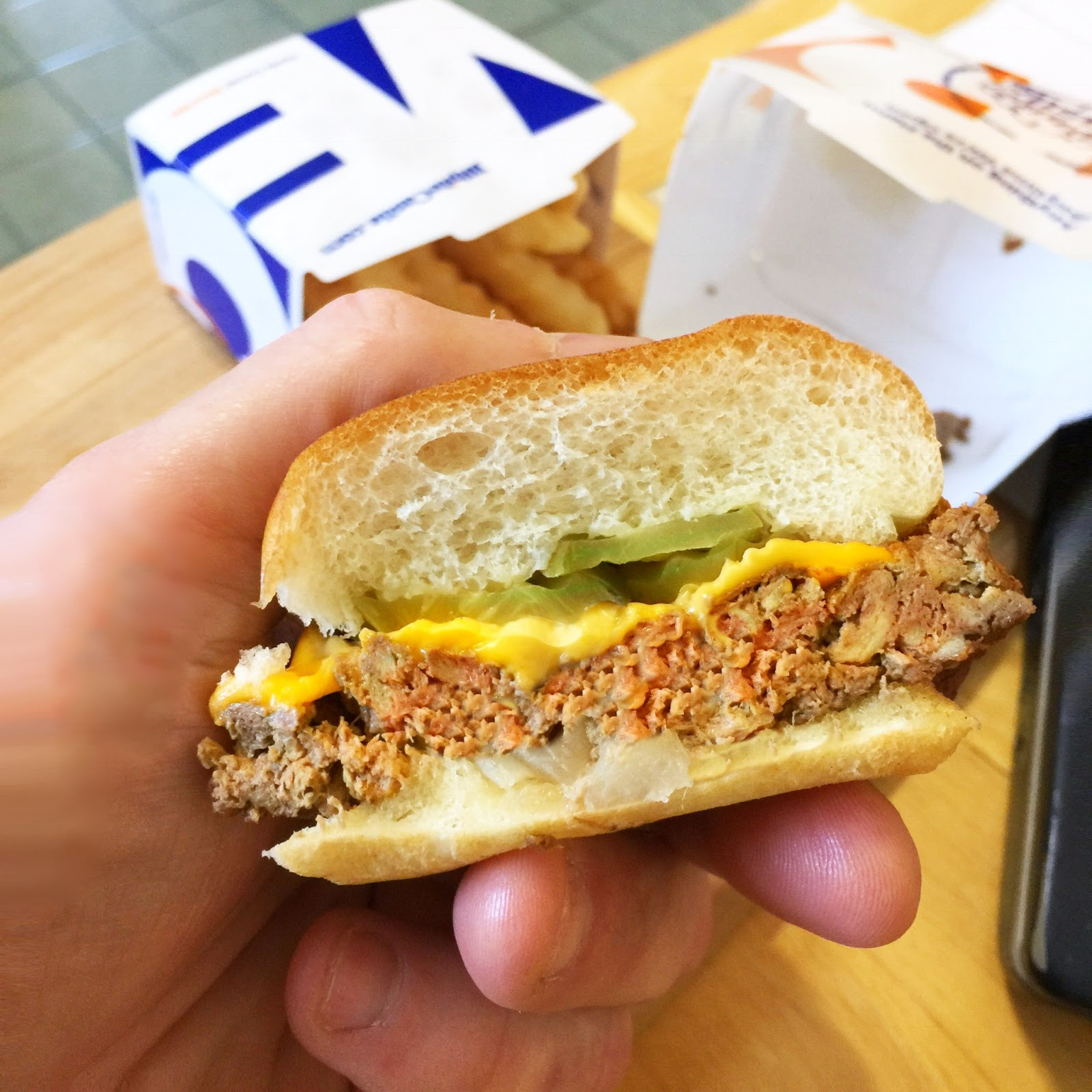 Impossible Foods plant based meat Impossible Slider from White Castle