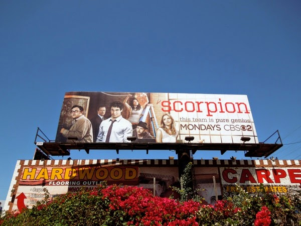 Scorpion season 1 billboard