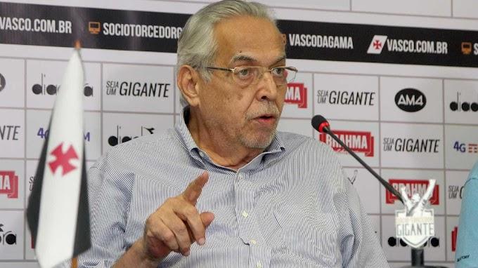 Ex-presidente do Vasco, Eurico Miranda luta conta tumor no cérebro