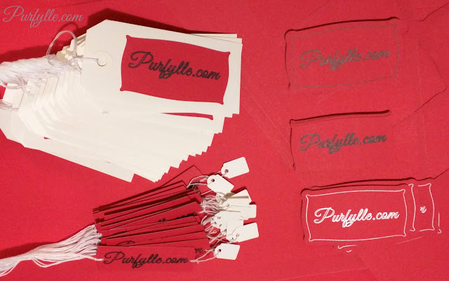 hang tags and business cards