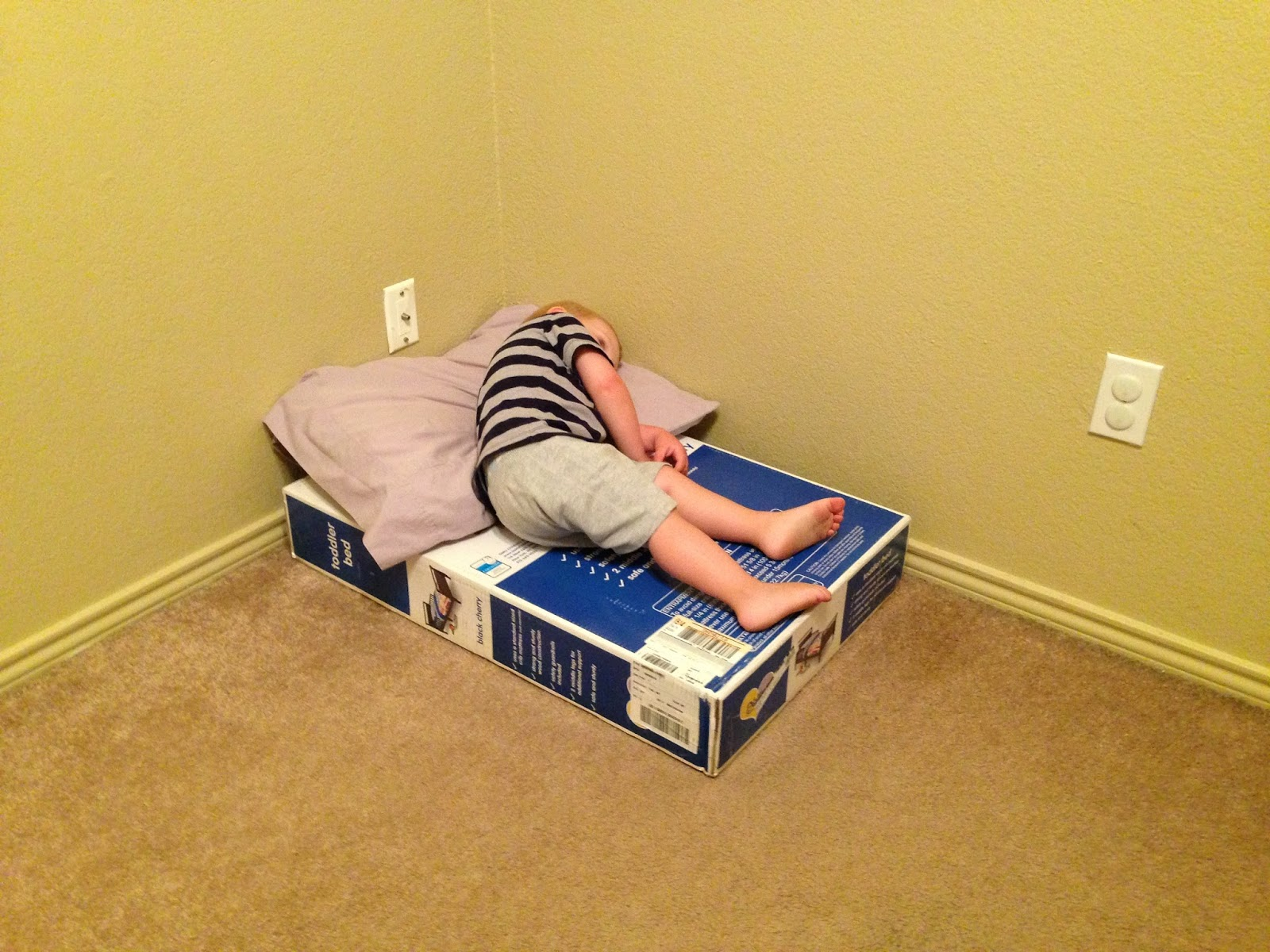 toddler beds the worst things on earth life as of late. Black Bedroom Furniture Sets. Home Design Ideas