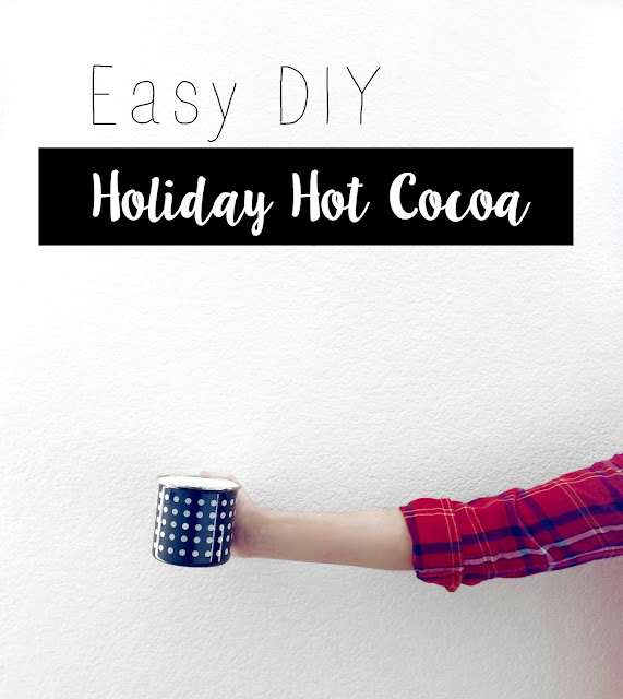 easy DIY hot chocolate recipes for the holidays
