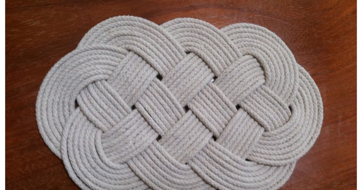 Inspiration And Realisation Diy Fashion Blog Wannabe Rug It S A Trivet