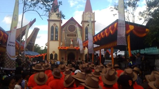 Jelang Perayaan 80 Tahun Baptis Katolik Pertama di Toraja, Rangkaian Persiapan Digelar