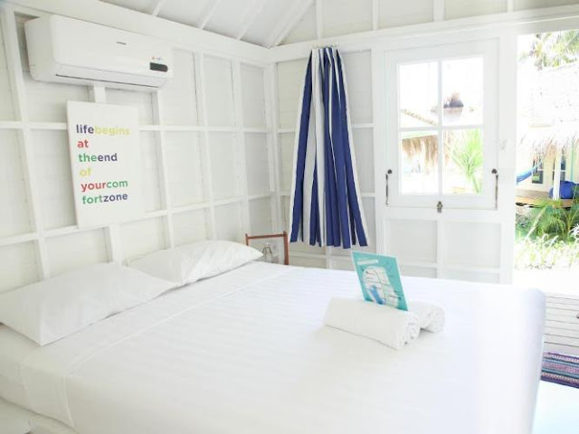 kamar standar Le Pirate Beach Club Gili Trawangan
