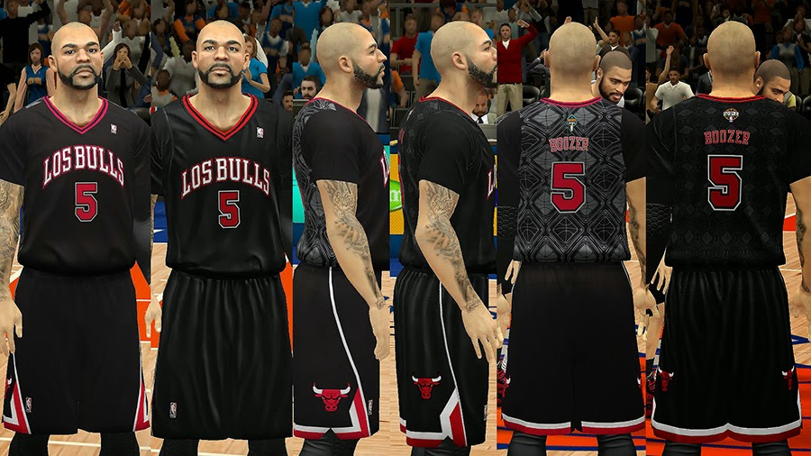 Los Bulls Latin Nights Sleeved Jersey