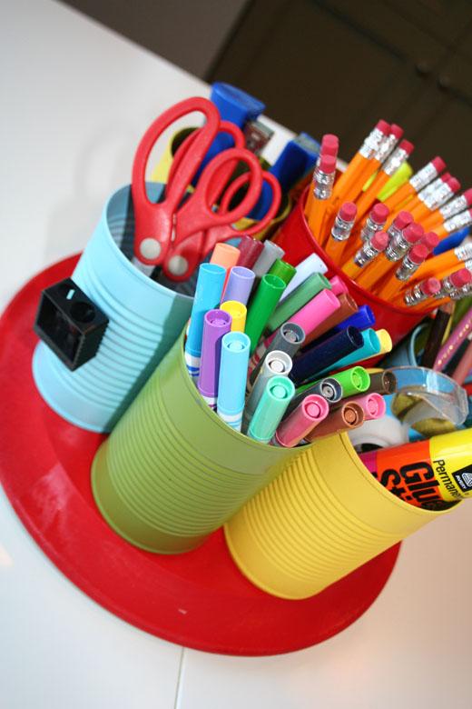 Diy Homework Supply Caddy Tutorial Popsicle Blog