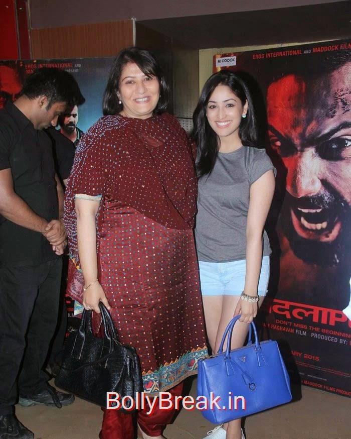 Pooja Ladha Surti, Yami Gautam, Hot Images OF Manasvi Mamgai, Huma Qureshi, Sonakshi Sinha At  'Badlapur' Special Screening