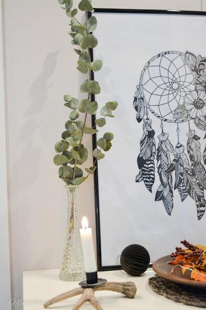 eucalyptus sisustus skandinaavinen talvi syksy joulu