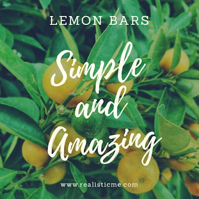 Simple and Amazing Lemon Bars