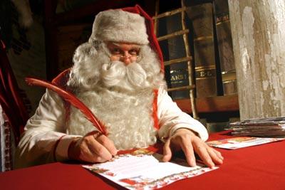 Dove Si Trova In Questo Momento Babbo Natale.Il Mondo In Un Giardino A Casa Di Babbo Natale