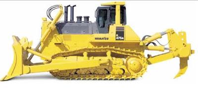 Pengertian Bulldozer dan Fungsi Bagian-bagiannya