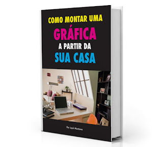 capa do e-book monte uma gráfica em sua casa
