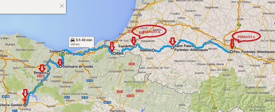 pirineus espanha mapa A U T O C A R A V A N A: Pirinéus e o 'Tour de France' 2014 ( VIII ) pirineus espanha mapa