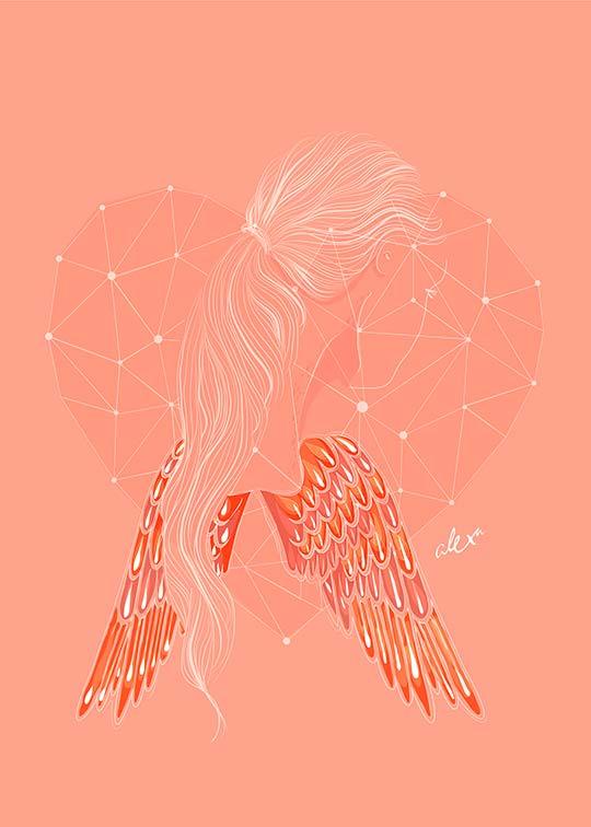 Ilustración de Alexa Barrera