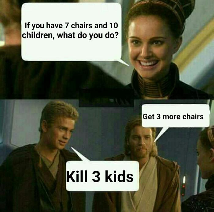 Damn it Anakin