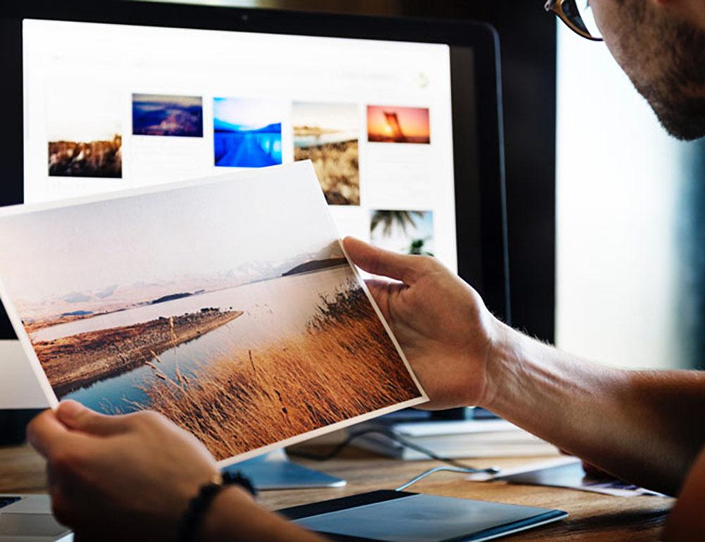 stampare le foto da casa