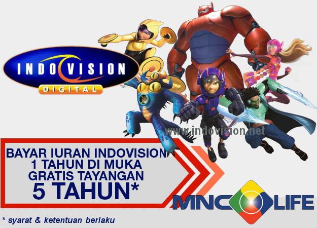 Penawaran khusus dari Indovision dan MNC Life 2016.