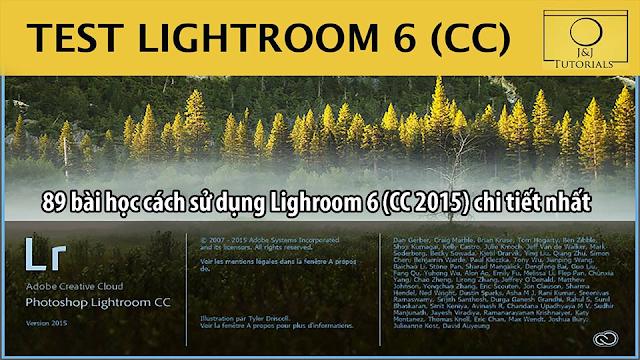 Cách sử dụng Lighroom 6 CC2015 chi tiết nhất