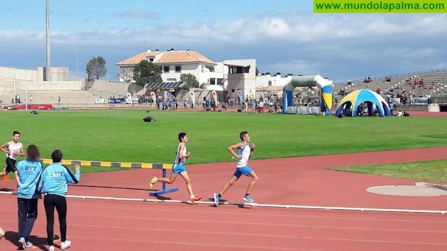 La Palma logra cuatro oros, seis platas y tres bronces en los XXXVI Campeonatos de Canarias en Edad Escolar