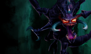 Nightmare Chogath Splash Art